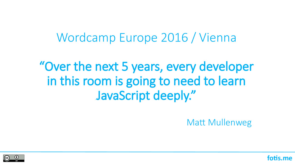 "foti.me Wordcamp Europe 2016 / Vienna ""Over the..."
