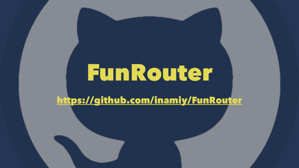 FunRouter https://github.com/inamiy/FunRouter