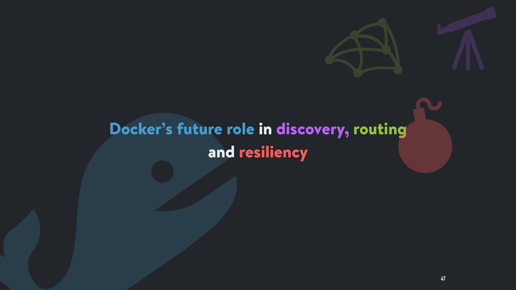 47 Docker's future role in discovery, routing a...