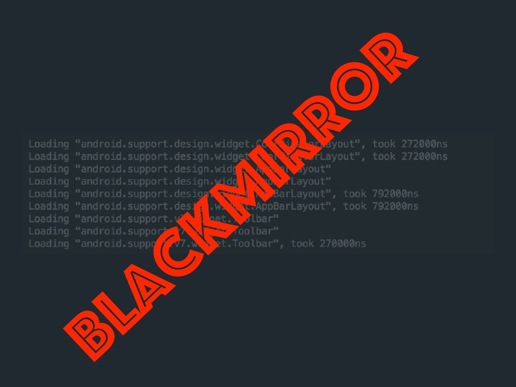 BlackM irro r