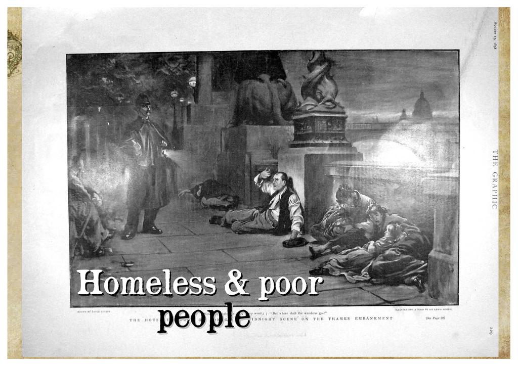 Homeless & poor Homeless & poor people people