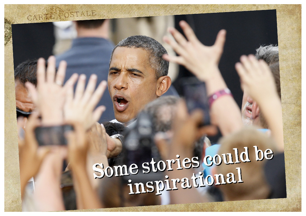 Some stories could be Some stories could be ins...