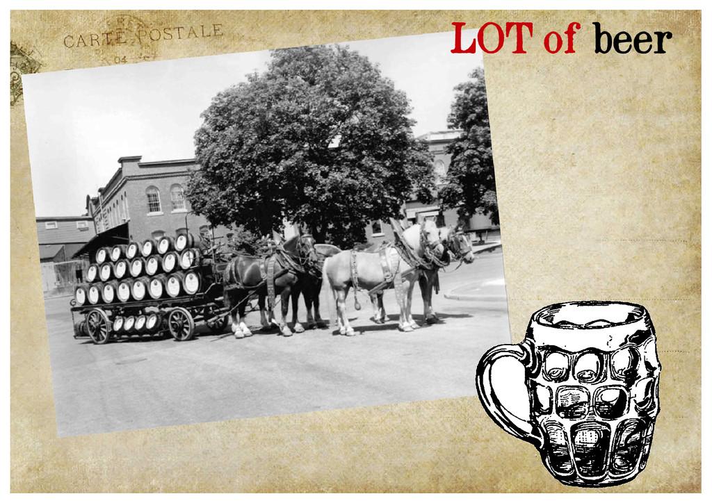 LOT of beer