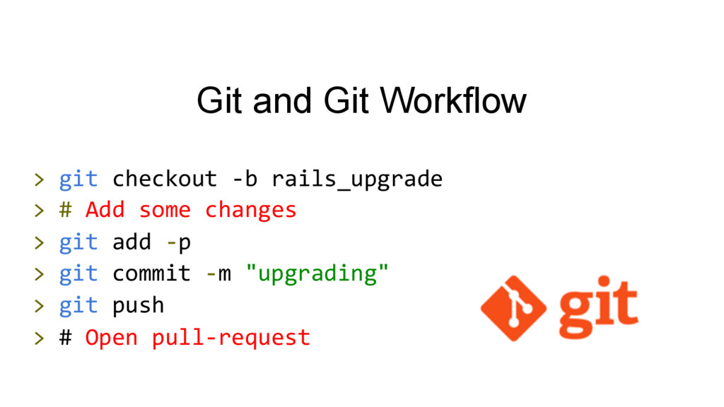 Git and Git Workflow >	