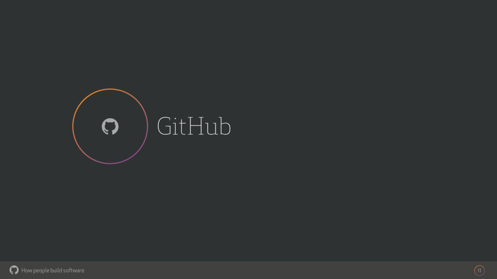 How people build software ! GitHub 11 !