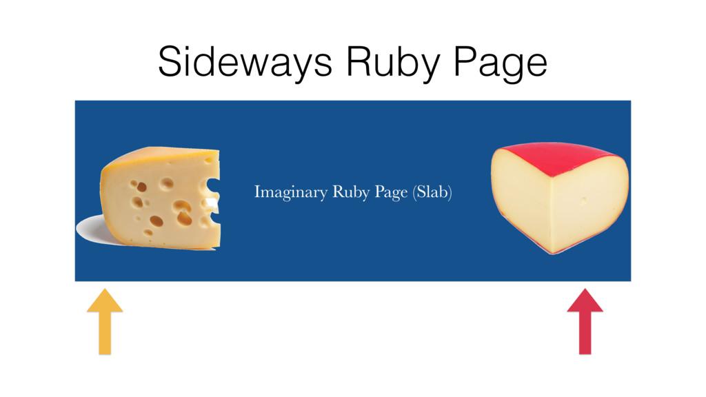 Sideways Ruby Page Imaginary Ruby Page (Slab)