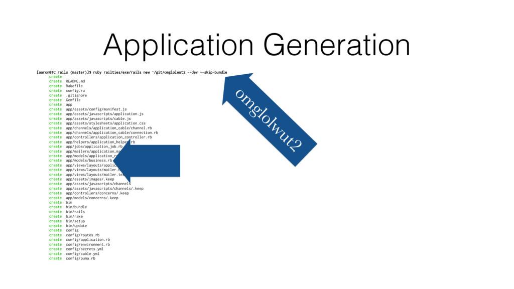 Application Generation [aaron@TC rails (master)...
