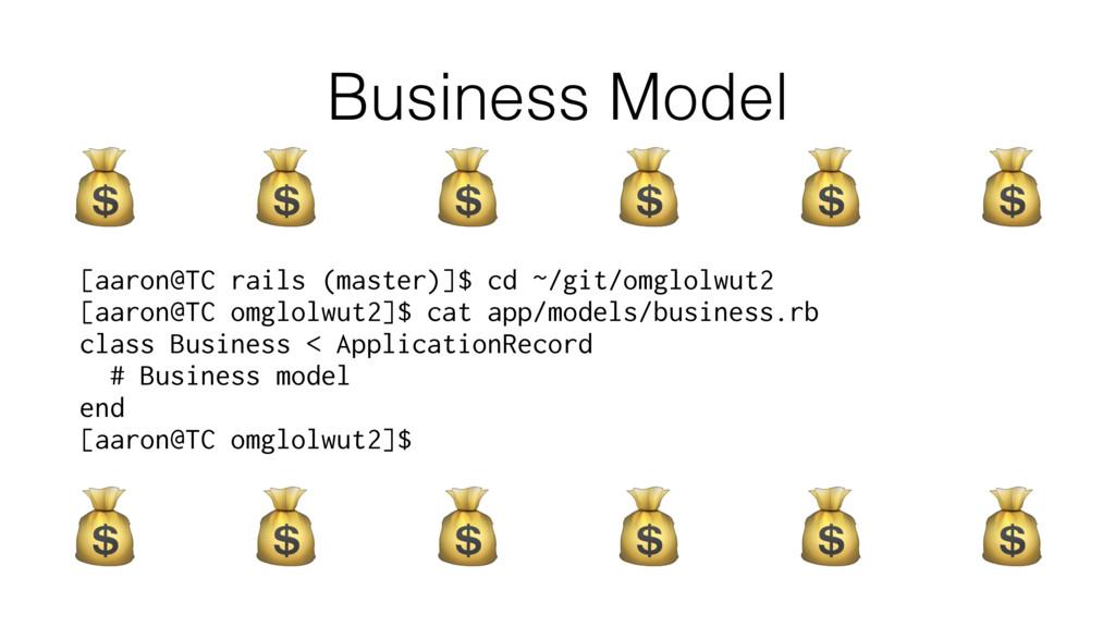 Business Model [aaron@TC rails (master)]$ cd ~/...