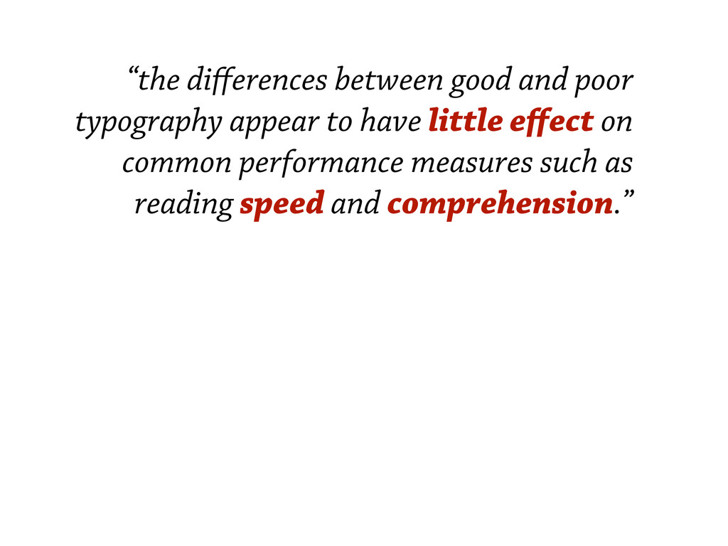 """the differences between good and poor typograph..."
