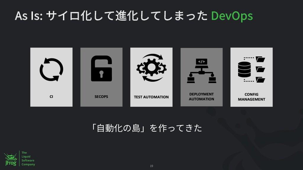 As Is: DevOps 19