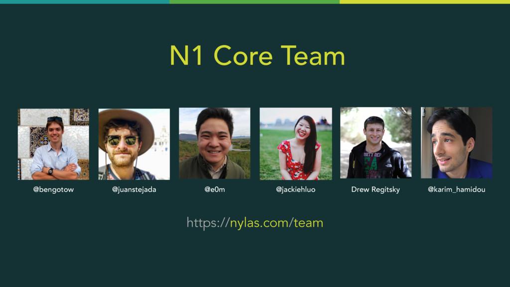 N1 Core Team https://nylas.com/team @e0m @bengo...