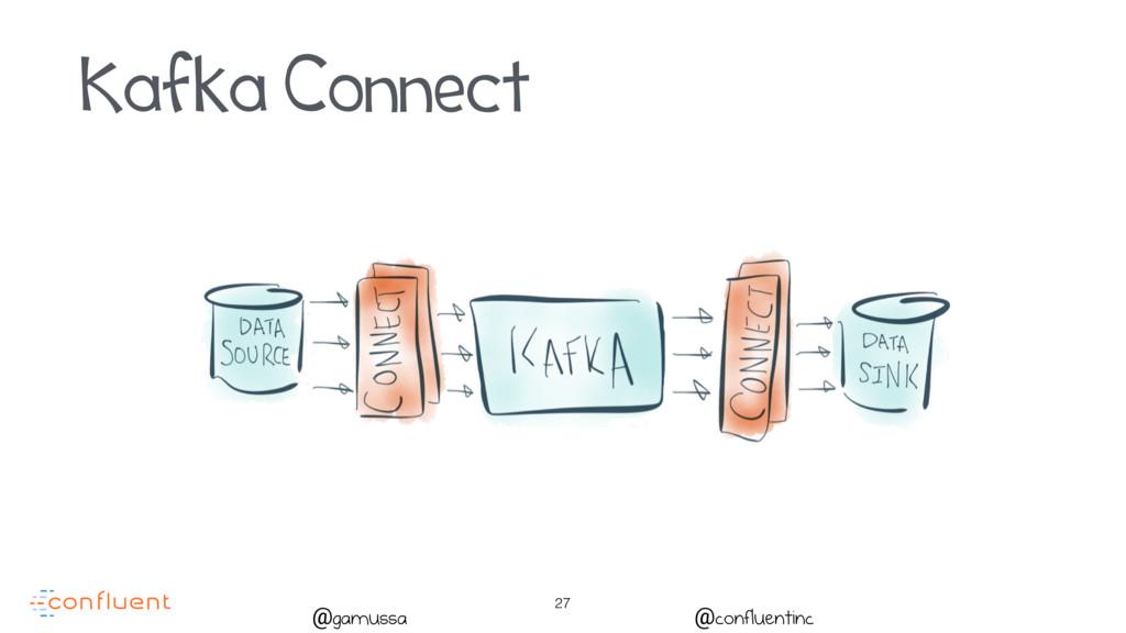 27 @gamussa @confluentinc Kafka Connect
