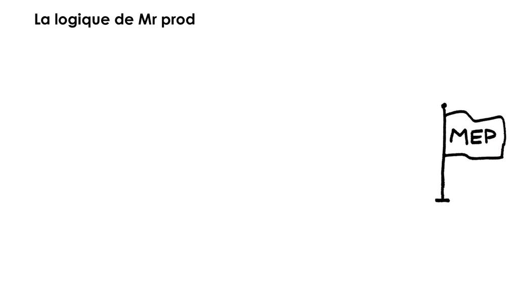 La logique de Mr prod