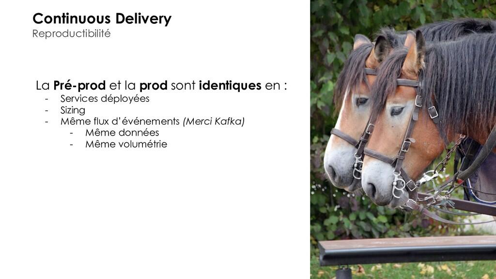 Continuous Delivery Reproductibilité La Pré-pro...