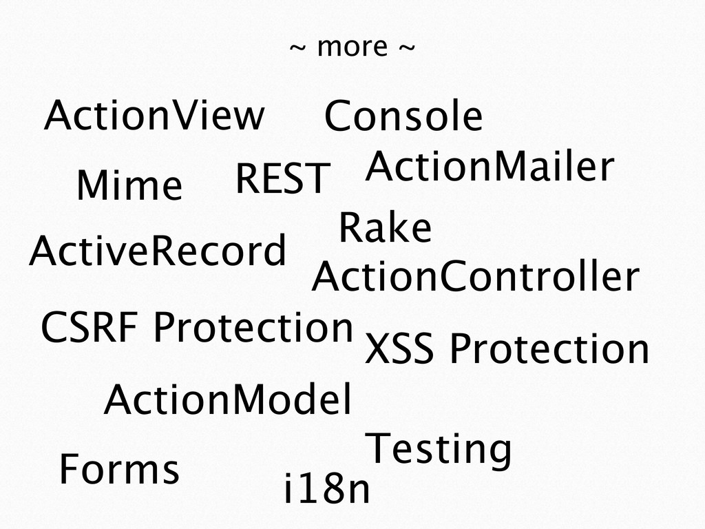 ActiveRecord ~ more ~ ActionController ActionVi...