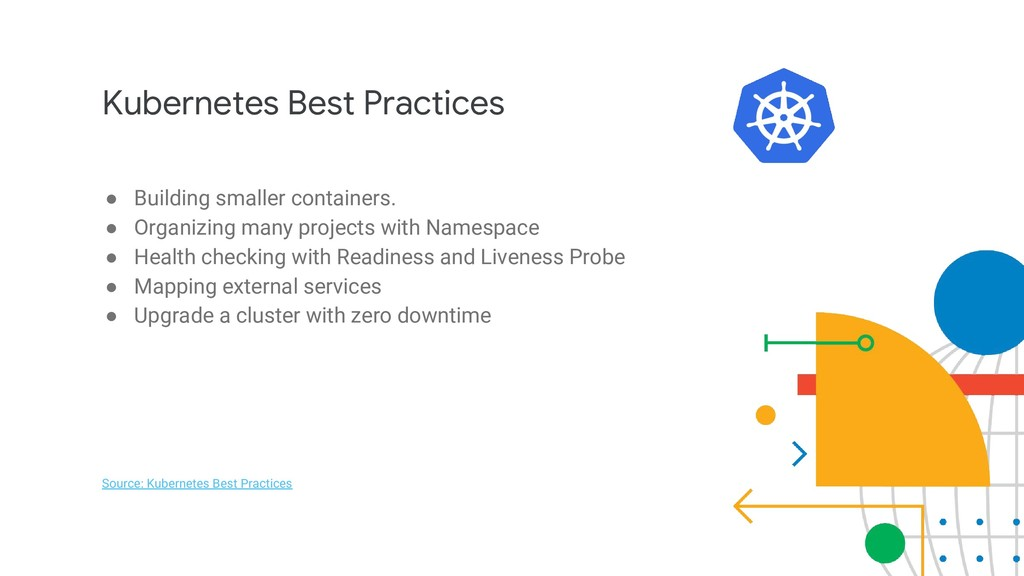 Kubernetes Best Practices ● Building smaller co...