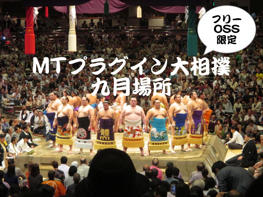 MMTTプラグイン大相撲   九月場所 フリー   OOSSSS   限定