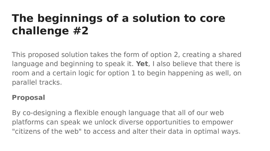 The beginnings of a solution to core challenge ...