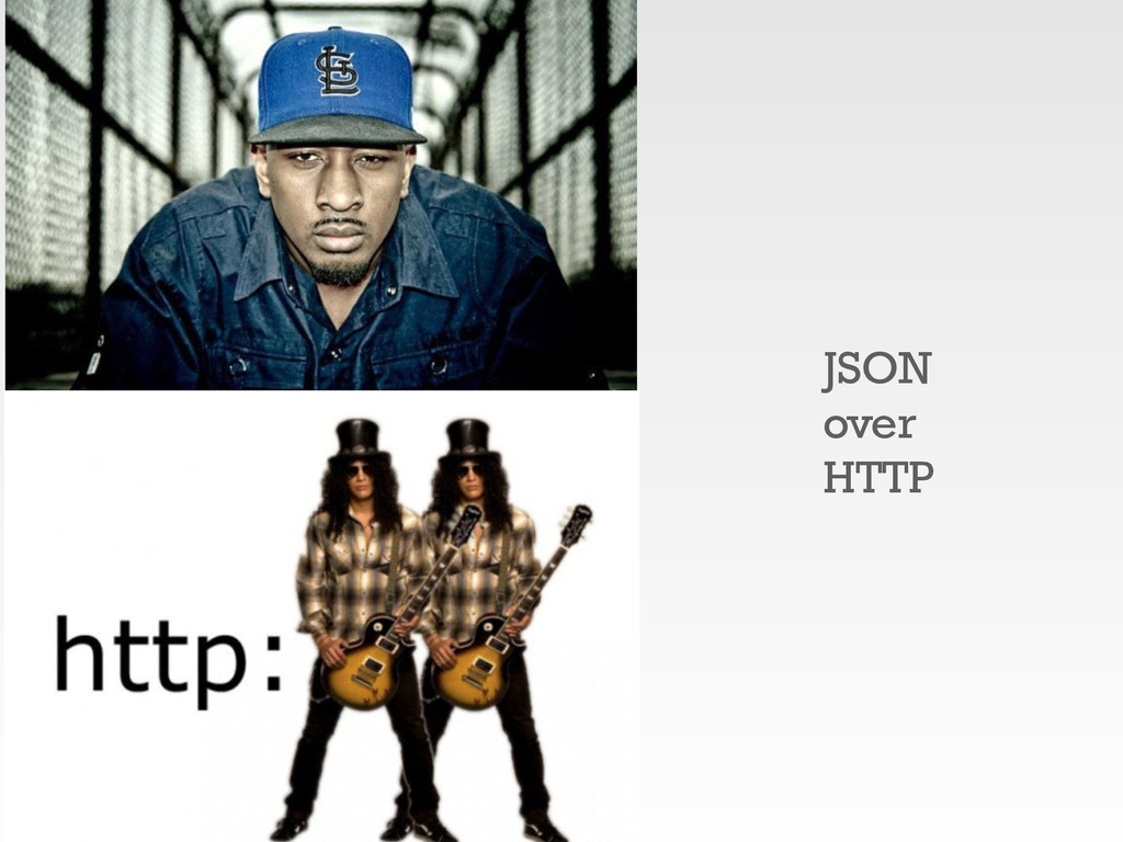 JSON over HTTP