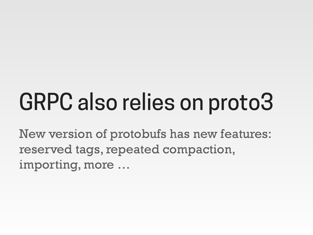 New version of protobufs has new features: rese...
