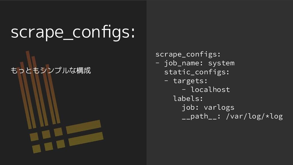 scrape_configs: scrape_configs: - job_name: syst...