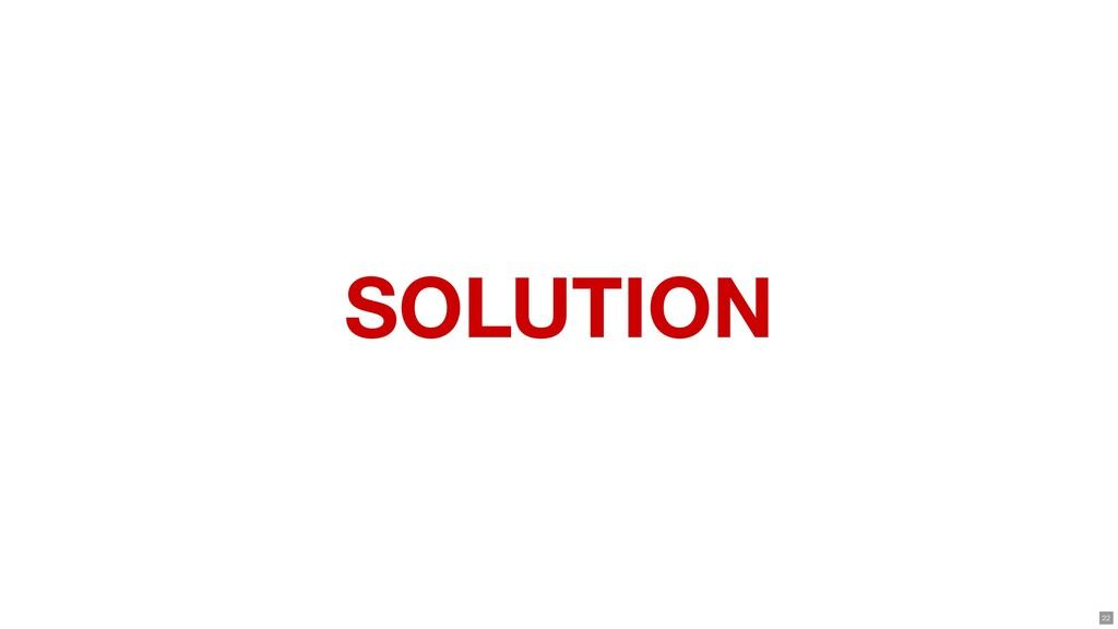 SOLUTION 22