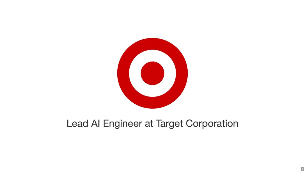 Lead AI Engineer at Target Corporation 4