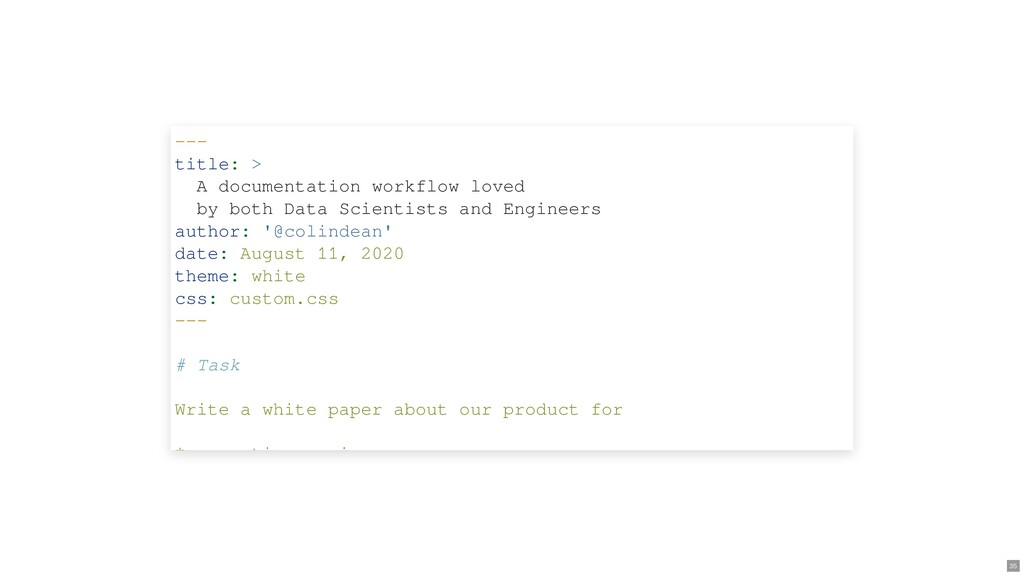 --- title: > A documentation workflow loved by ...