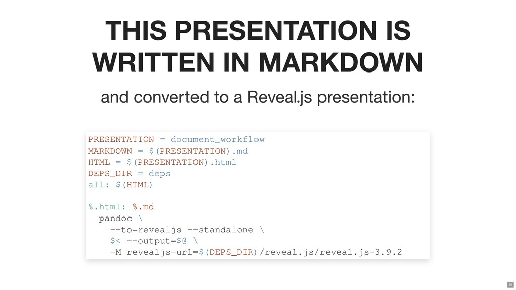 THIS PRESENTATION IS WRITTEN IN MARKDOWN and co...