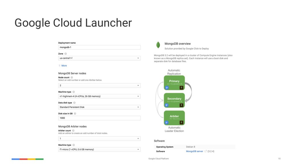 Google Cloud Platform 15 Google Cloud Launcher