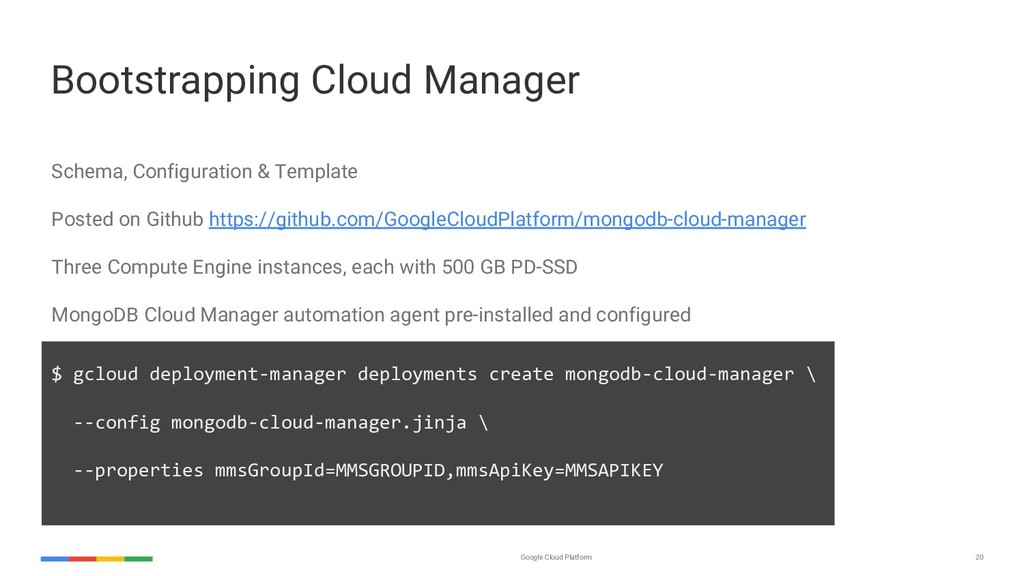 Google Cloud Platform 20 Bootstrapping Cloud Ma...