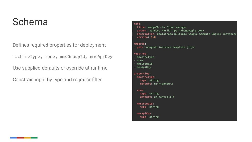 21 Defines required properties for deployment m...