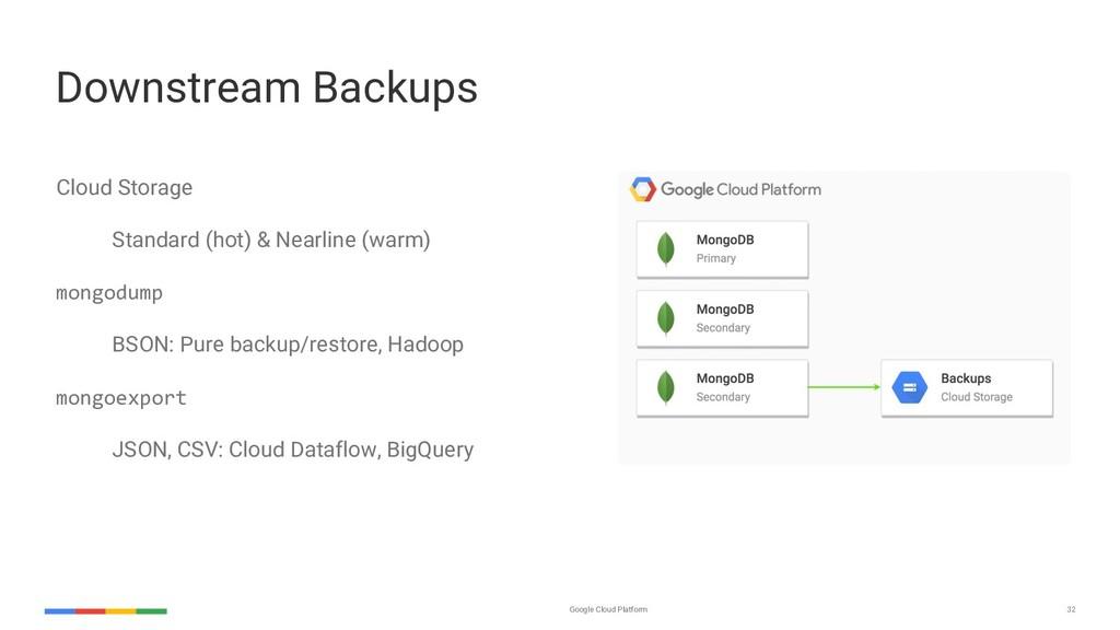 Google Cloud Platform 32 Cloud Storage Standard...