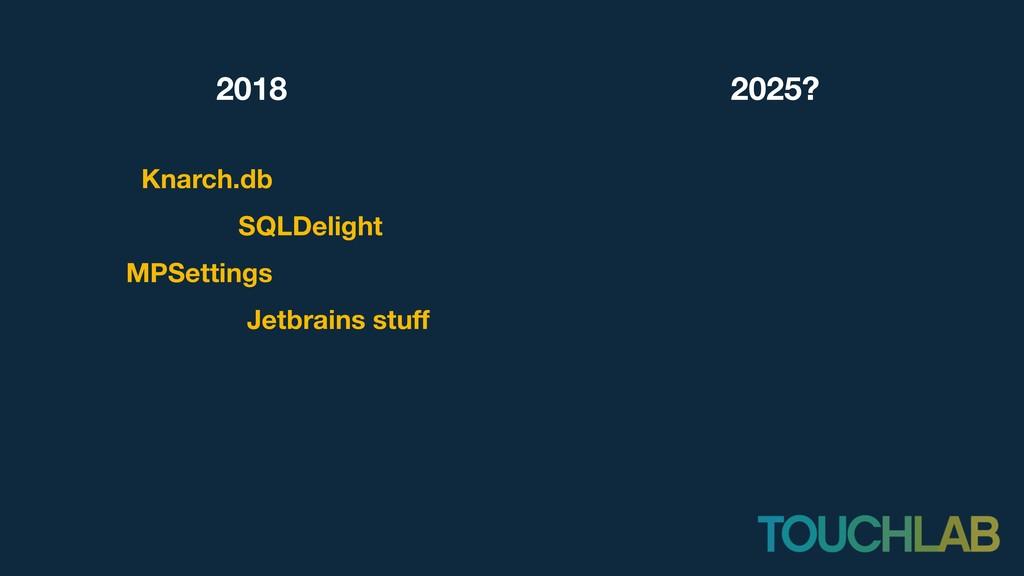 2018 Knarch.db SQLDelight 2025? MPSettings Jetb...