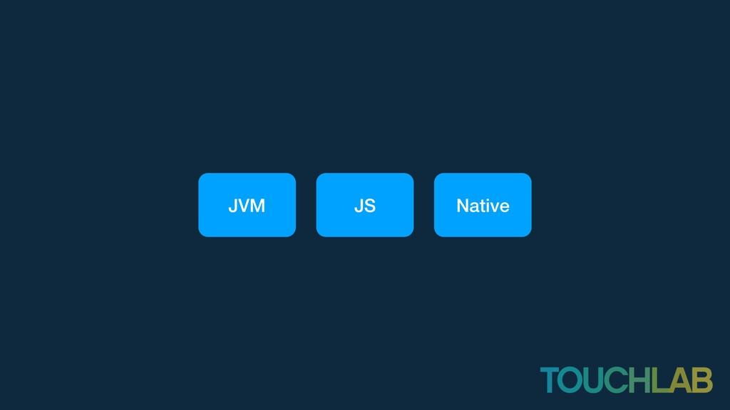JVM JS Native