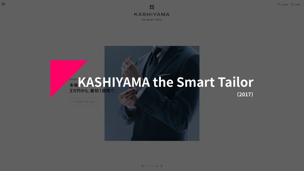 KASHIYAMA the Smart Tailor (2017)