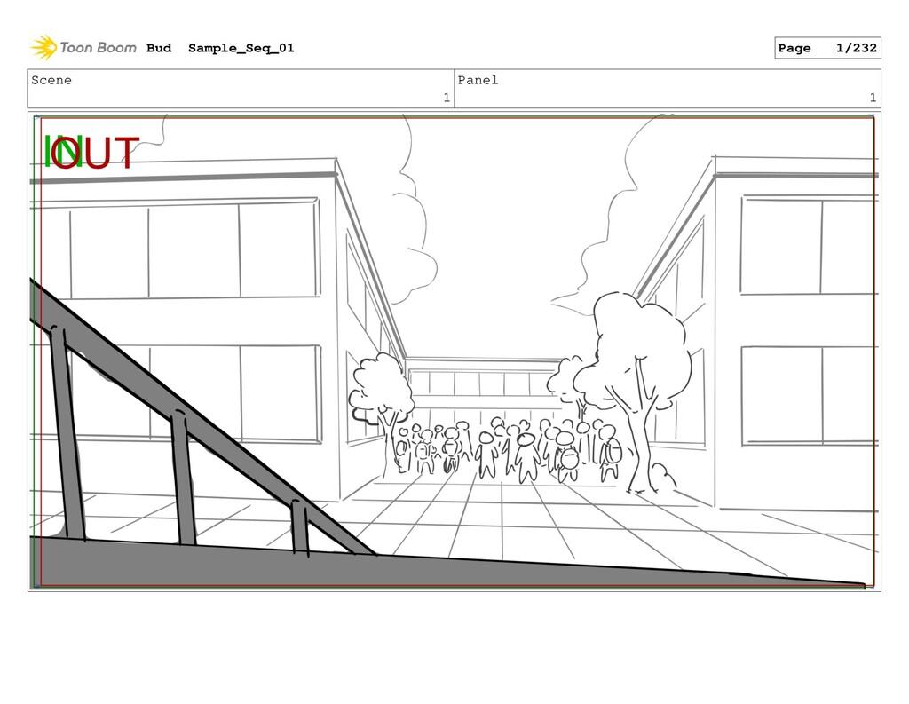 Scene 1 Panel 1 Bud Sample_Seq_01 Page 1/232