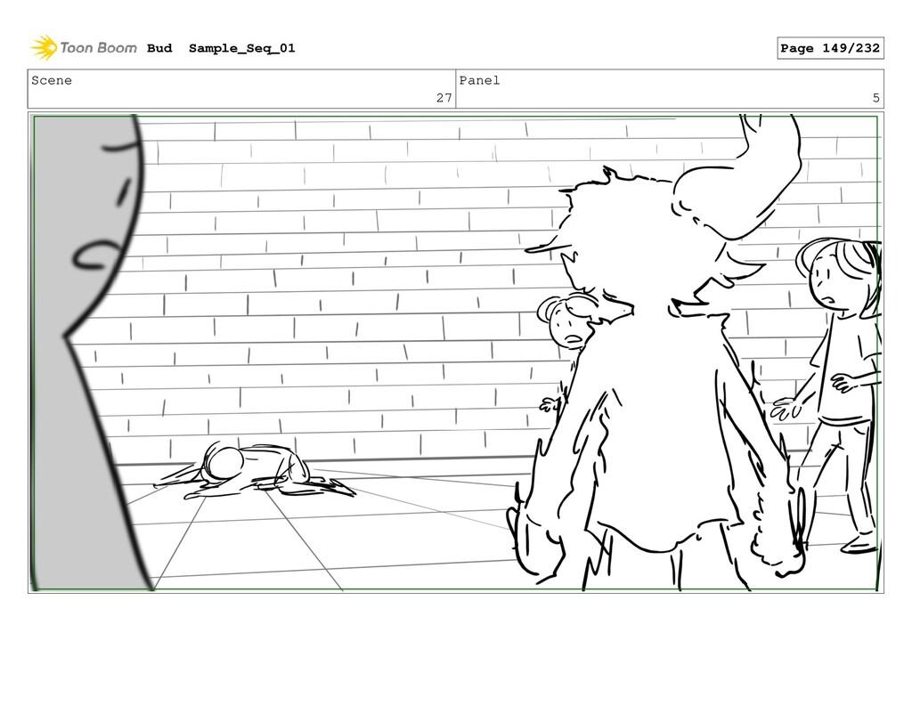 Scene 27 Panel 5 Bud Sample_Seq_01 Page 149/232