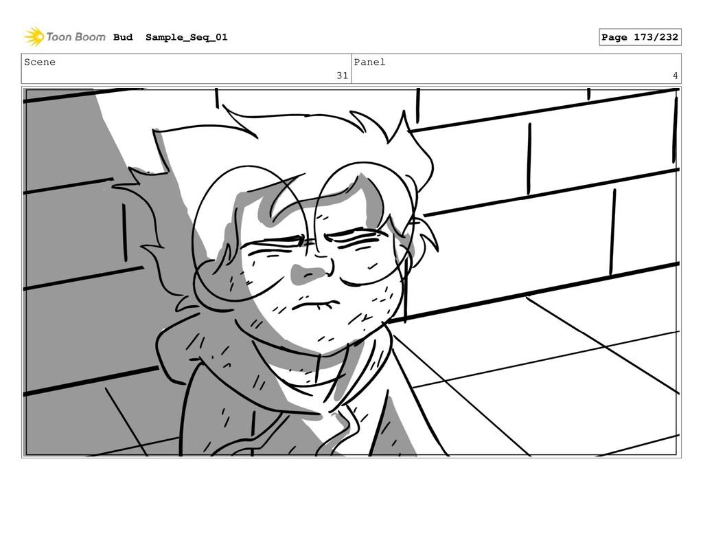 Scene 31 Panel 4 Bud Sample_Seq_01 Page 173/232