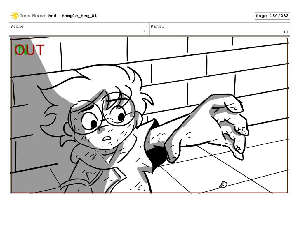 Scene 31 Panel 11 Bud Sample_Seq_01 Page 180/232