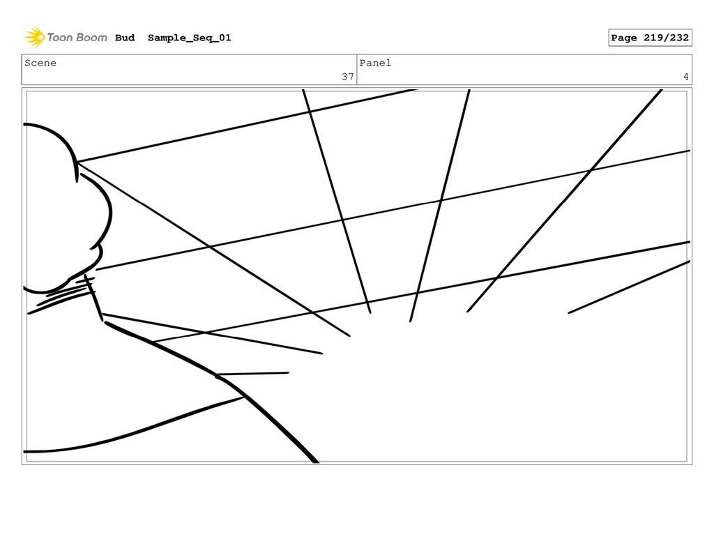 Scene 37 Panel 4 Bud Sample_Seq_01 Page 219/232