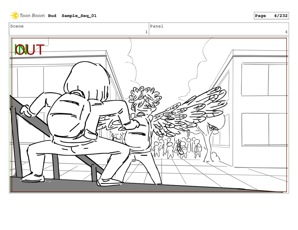 Scene 1 Panel 4 Bud Sample_Seq_01 Page 4/232