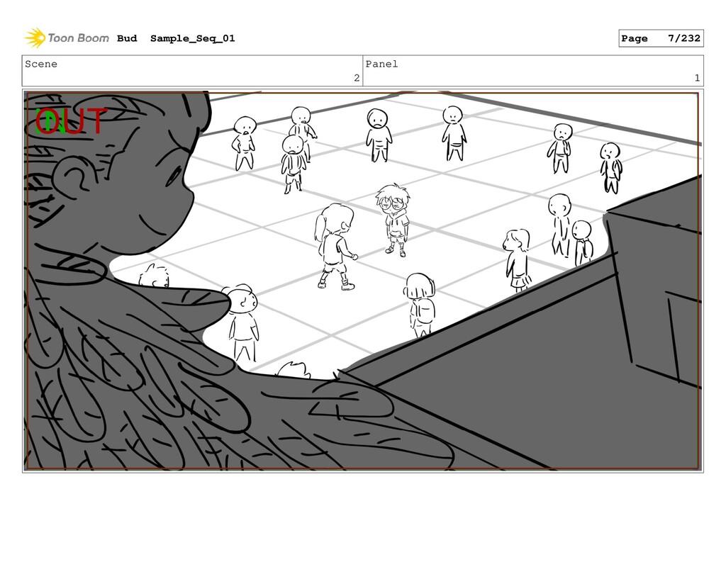 Scene 2 Panel 1 Bud Sample_Seq_01 Page 7/232