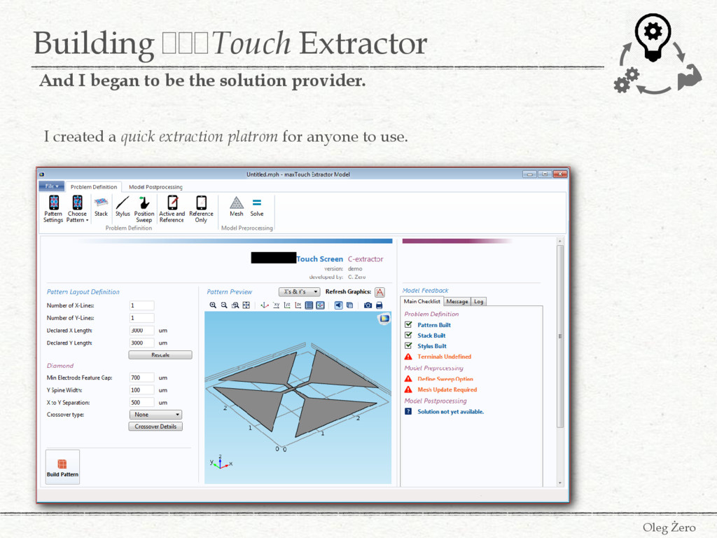 Building FFFTouch Extractor Oleg Żero And I beg...