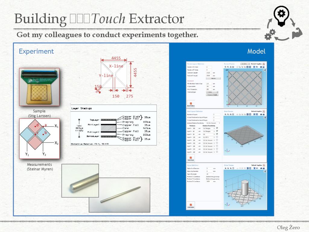 Building FFFTouch Extractor Oleg Żero Got my co...