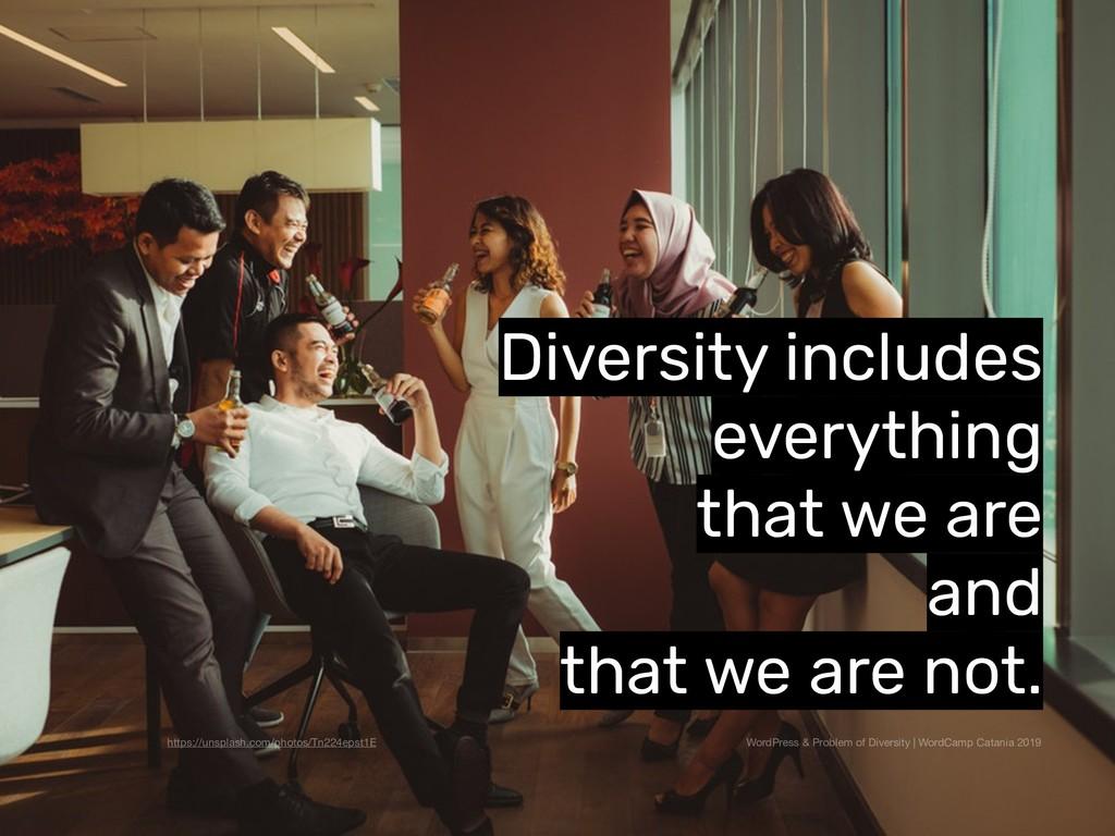 WordPress & Problem of Diversity | WordCamp Cat...