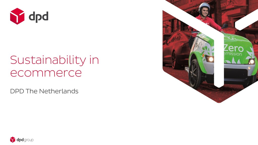 DPD The Netherlands Sustainability in ecommerce