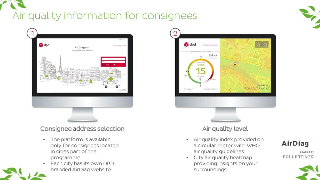 23 Air quality information for consignees Consi...