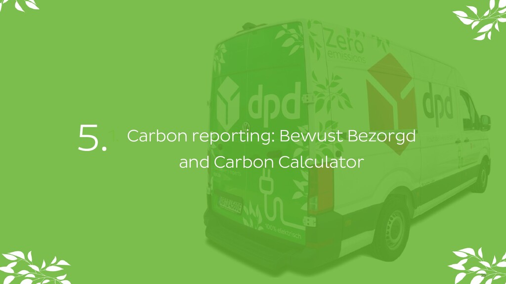1. Carbon reporting: Bewust Bezorgd and Carbon ...