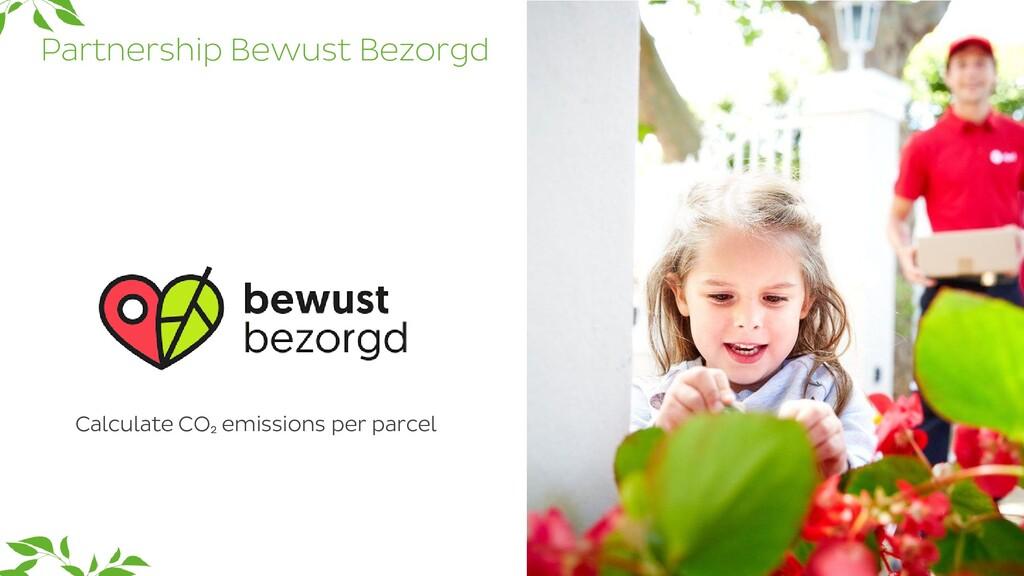 Partnership Bewust Bezorgd 26 Calculate CO₂ emi...